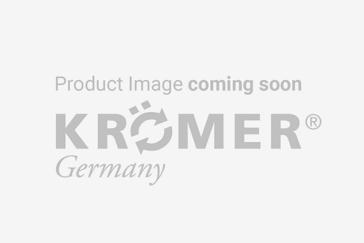 Display der Krömer Reifenwuchtmaschine Modell 2014 zeigt Fehlfunktion